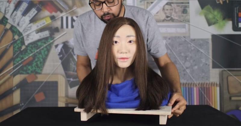 DxOMark Made a Realistic Mannequin for Testing Selfie Cameras