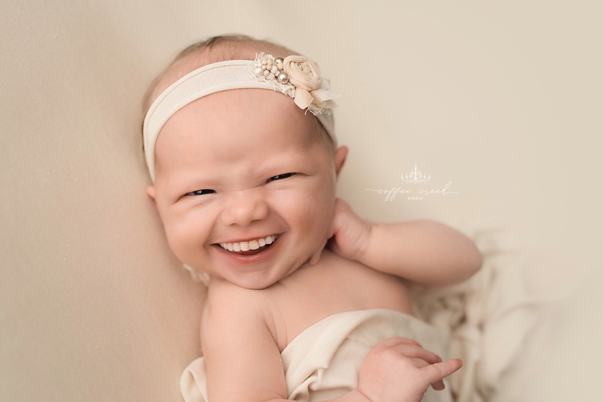 Newborn Photographer Adds Teeth to Baby Portraits with Hilarious Results