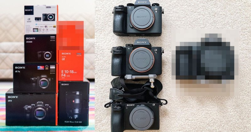 This $10,000 in Sony Gear Cost $500 Thanks to Amazon's Glitch | PetaPixel