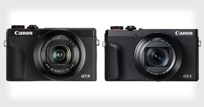 Canon Unveils the PowerShot G7 X III and G5 X Mark II