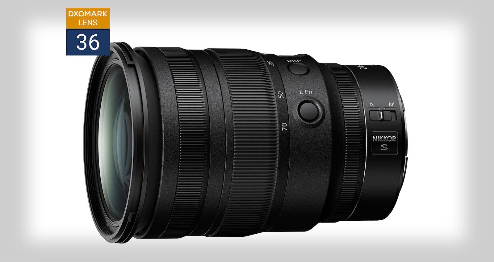 DxO Mark: Nikon's 24-70mm f/2.8 Z-Mount Lens is 'The New Benchmark'