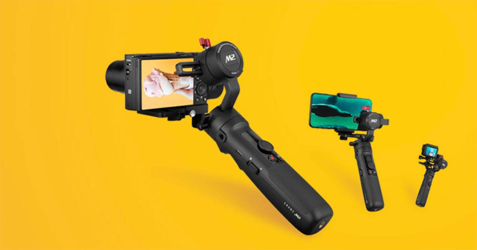 Zhiyun Unveils Cheap, Compact Crane-M2 Gimbal for Compact Cameras