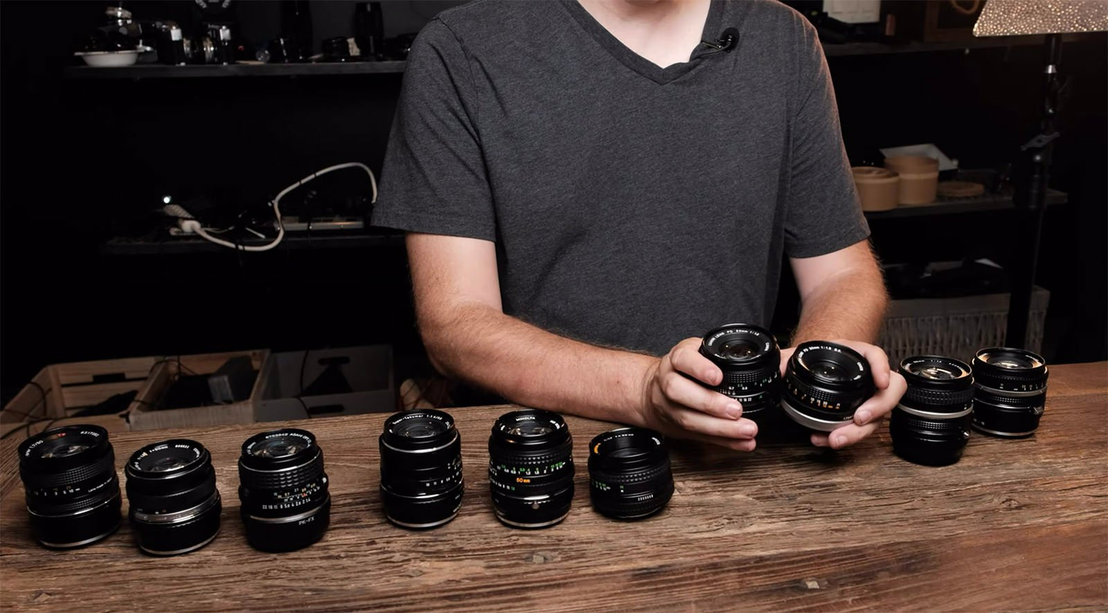 Vintage 50mm Lens Shootout: Trying 10 Lenses Under $100
