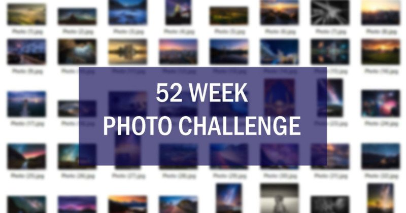 Do a 52-Week Photo Challenge to Improve Your Skills
