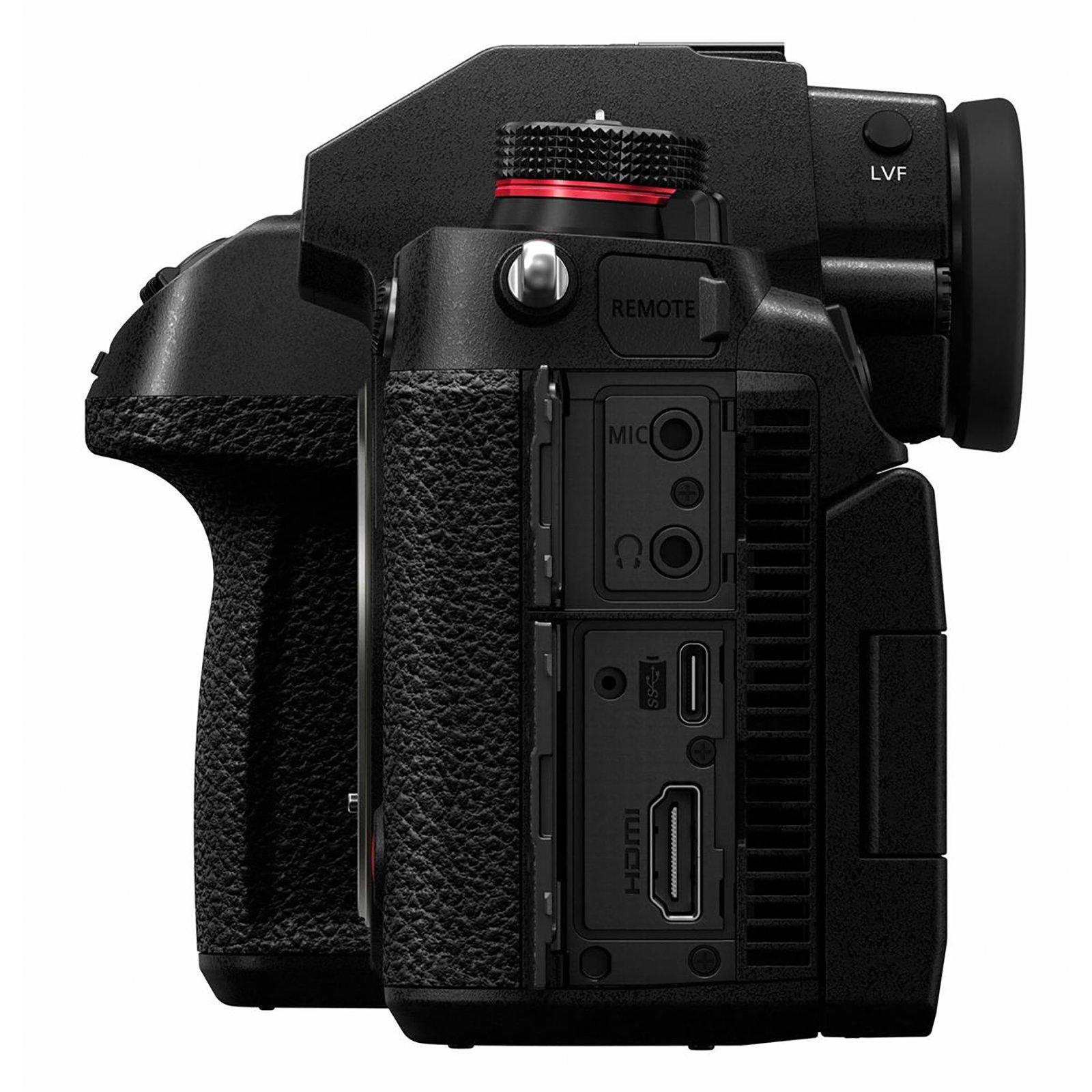 Panasonic Lumix S1H camera detailed