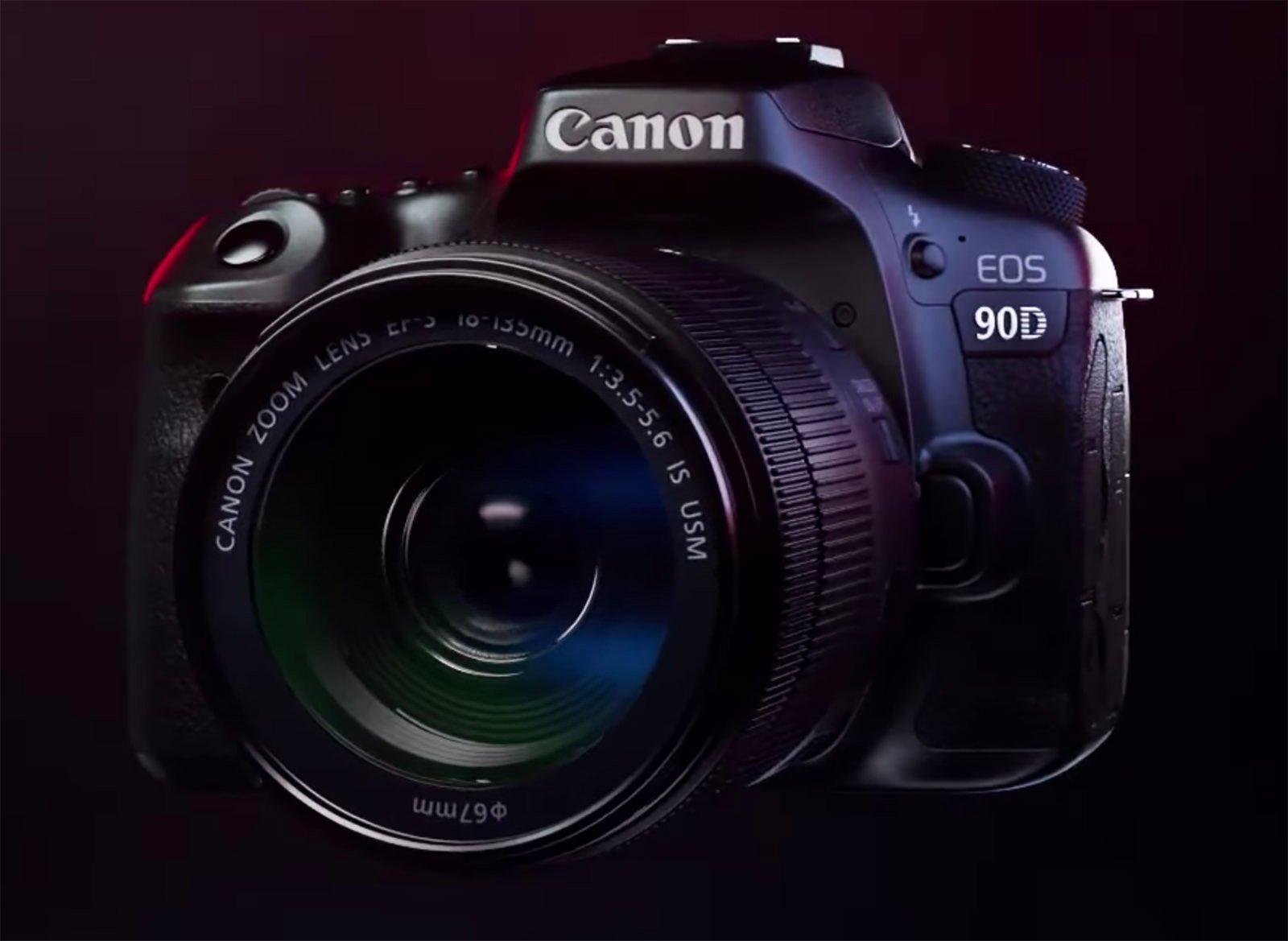 Canon 90D Promo Video Leaked: 32.5MP Sensor, 10fps, 4K Video