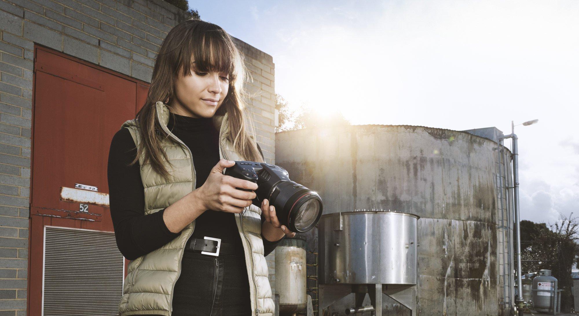 Blackmagic Pocket Cinema Camera 6K Uses Bigger Sensor & Canon EF Mount