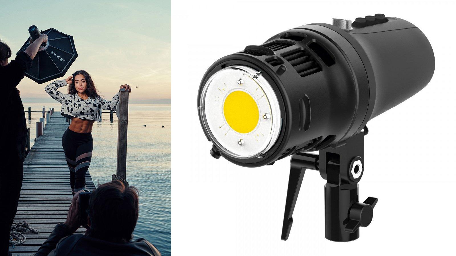 Elinchrom Unveils the ELM8: 'The Most Versatile Continuous LED Light'