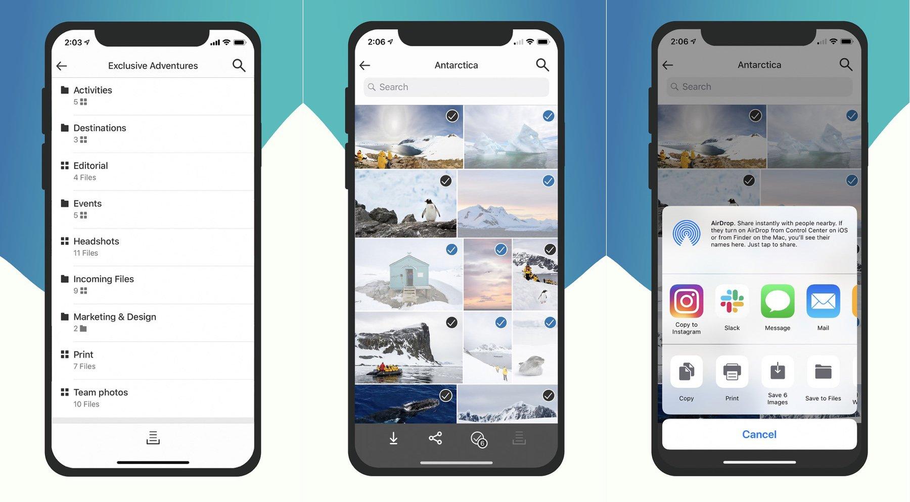 PhotoShelter's FileFlow App Lets You Deliver Client Photos