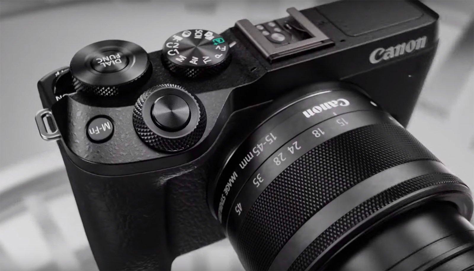 Canon EOS M6 Mark II Leaked: 32.5MP Sensor, 4K Video, 30fps RAW Burst