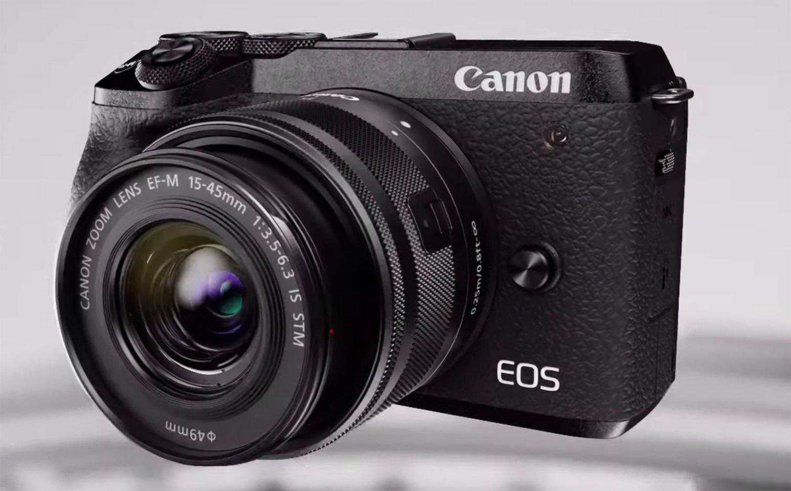 Canon EOS M6 Mark II Leaked: 32 5MP Sensor, 4K Video, 30fps