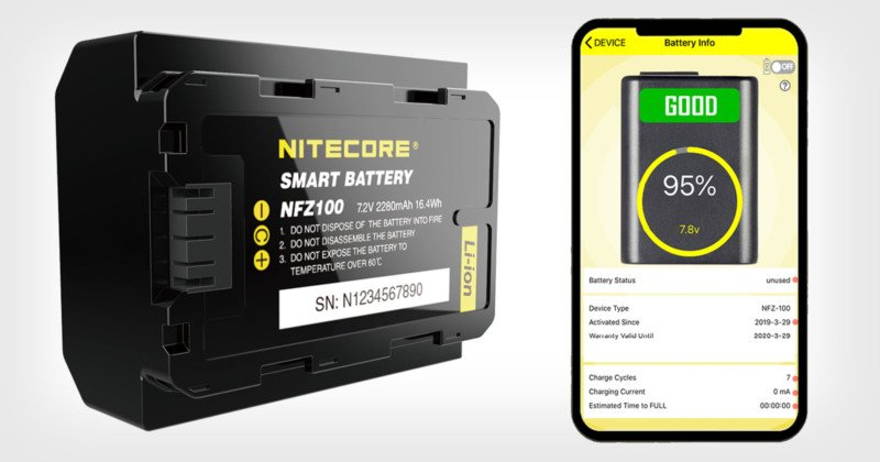 Nitecore Made the World's First Smart Battery for Sony Cameras