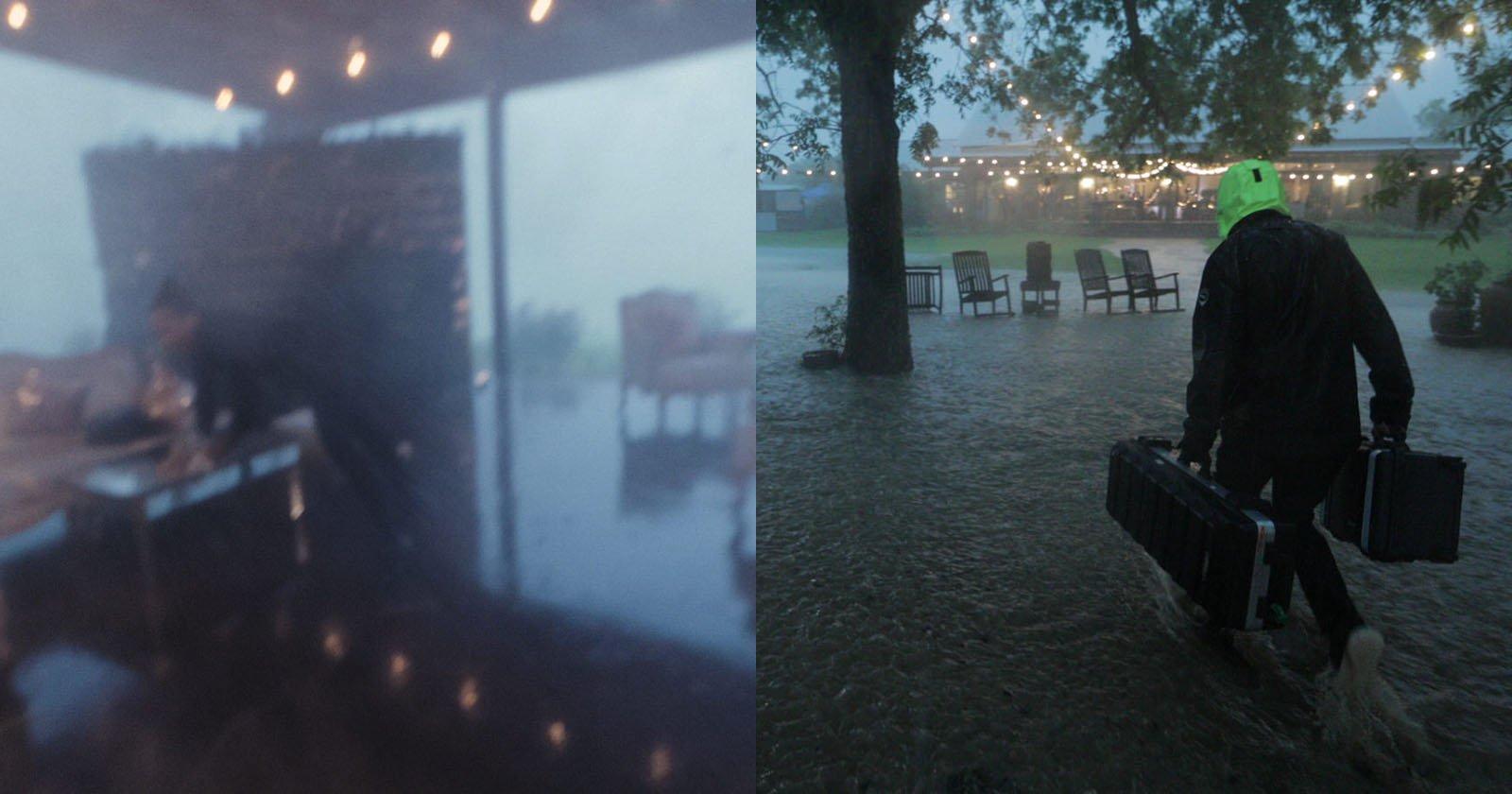 When a Tornado and Flash Flood Crash the Wedding You're Shooting