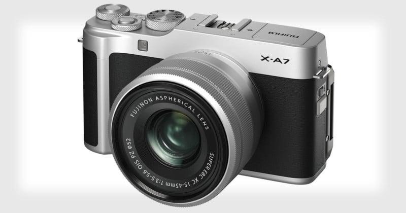 Fujifilm Unveils the X-A7, Its