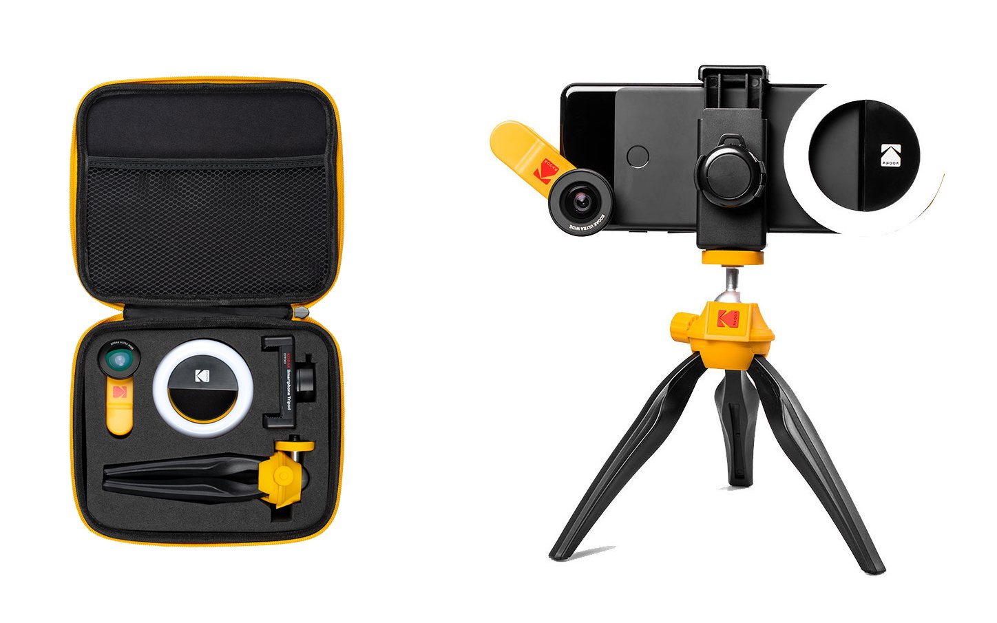 Kodak-Branded Smartphone Lenses, Ring Light and More