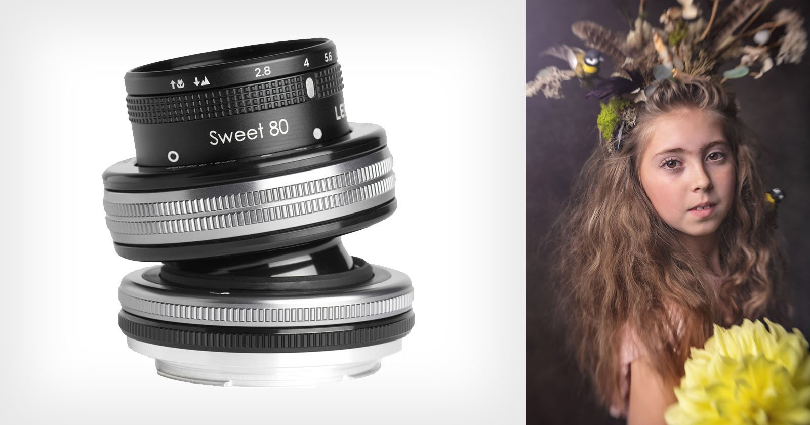 A Portrait Shoot with a Lensbaby Composer Pro and Sweet 80 Optic