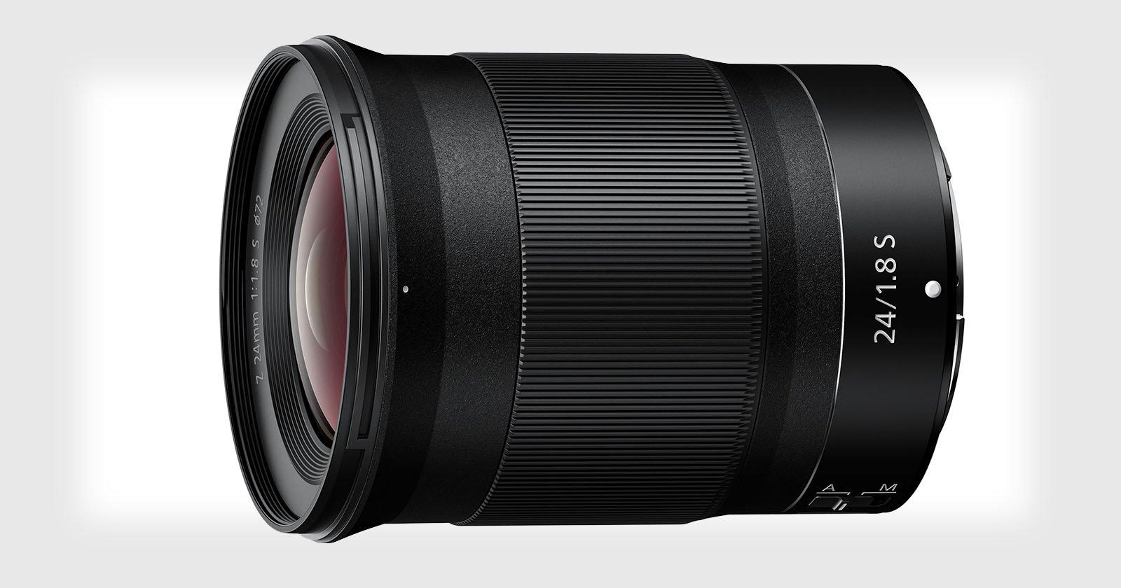 Nikon Unveils the Nikkor Z 24mm f/1.8 S Mirrorless Lens