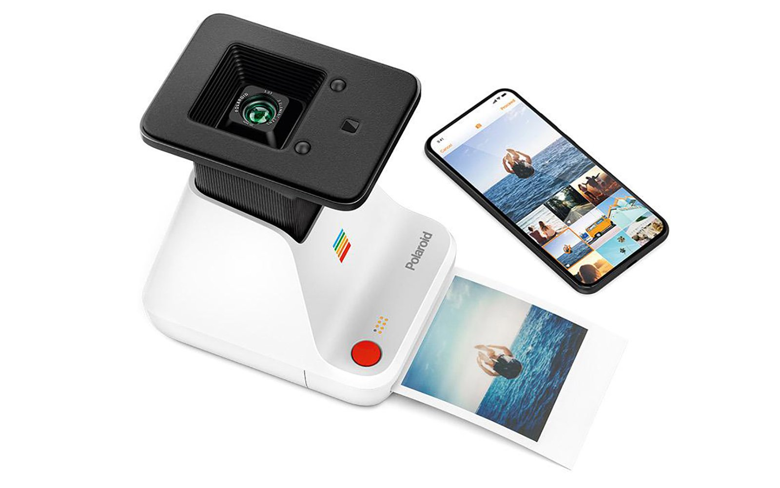 The Polaroid Lab Transfers Your Digital Photos Onto Analog Instant Film