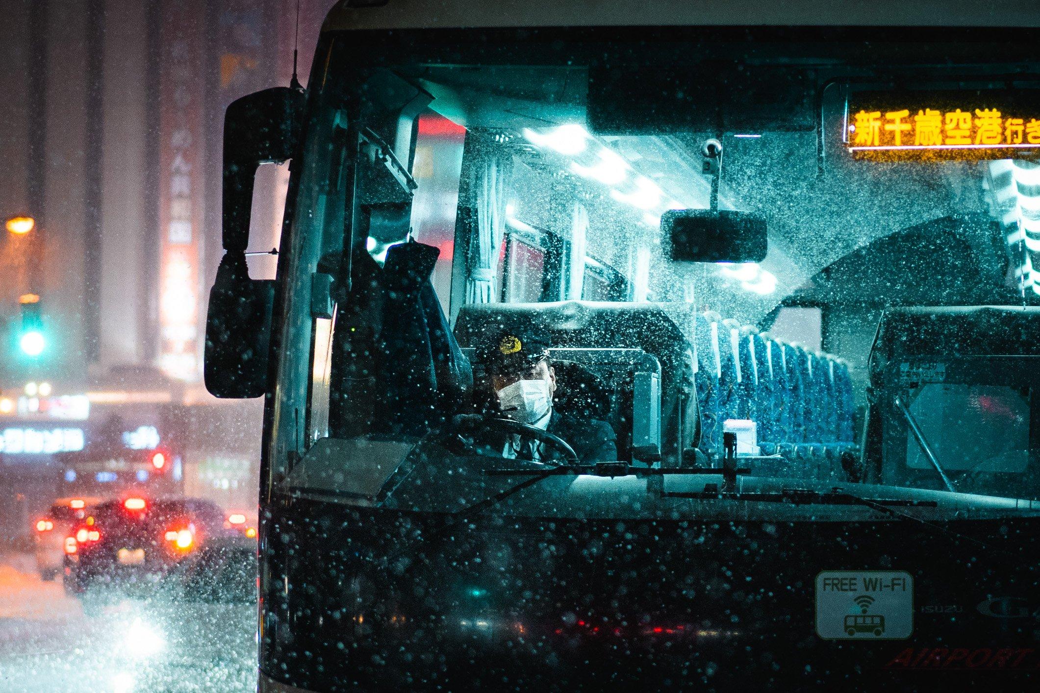 Snowy Street Photography in Sapporo, Japan, a Hidden Gem