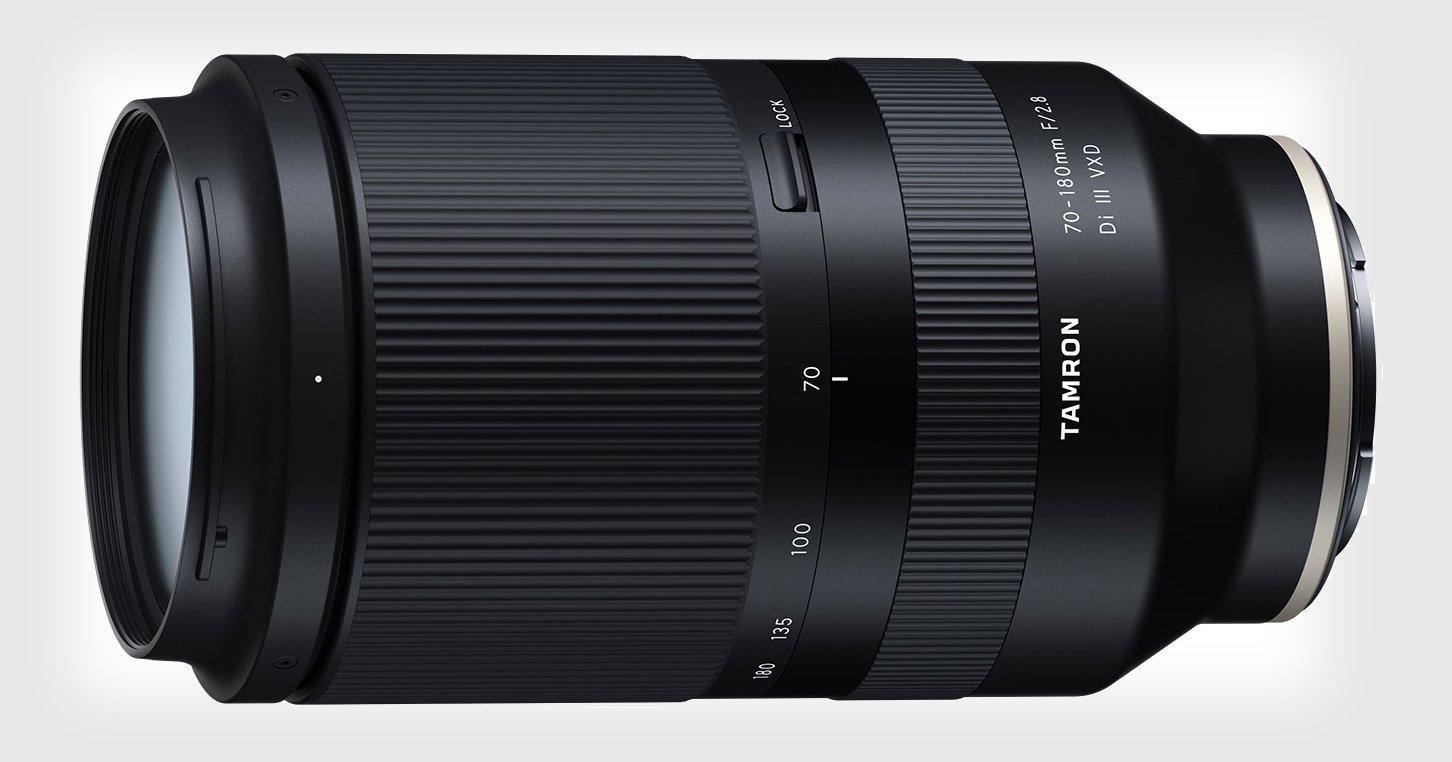 Tamron Announces Development of Lightweight 70-180mm f/2.8 Lens for Sony E-Mount
