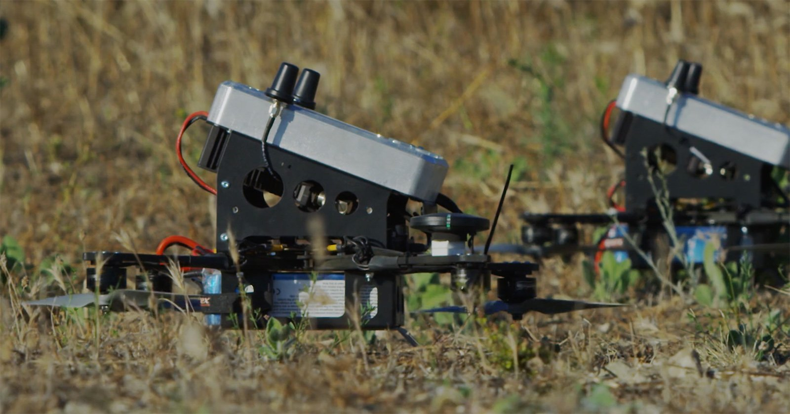 Watch Anduril's Battering-Ram Drone Knock Other Drones Out of the Sky