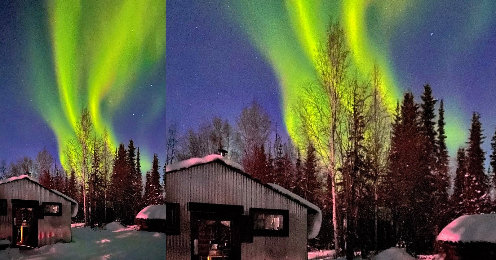 Using an iPhone 11 Pro to Capture the Northern Lights