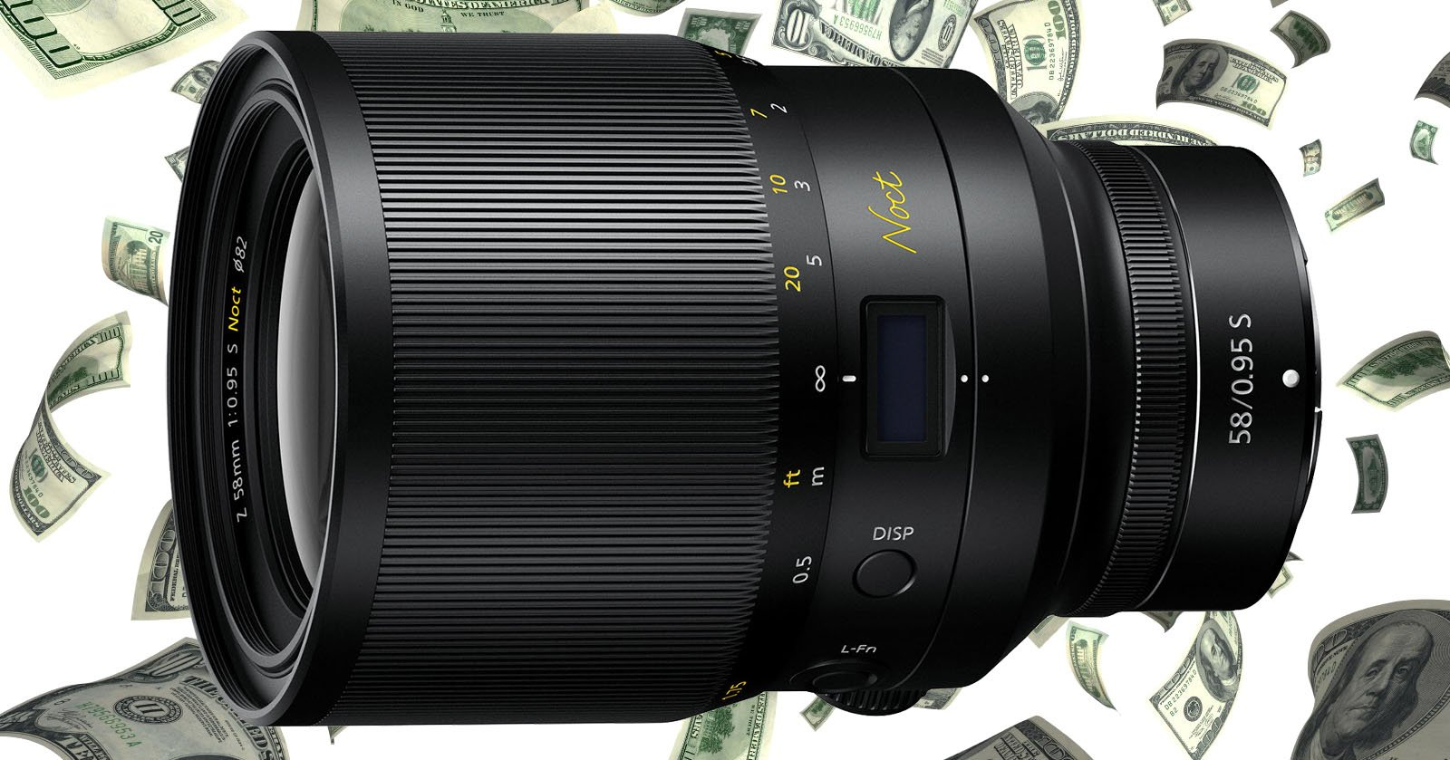 Nikon's 58mm f/0.95 Noct Lens is Going to Cost $8,000: Report