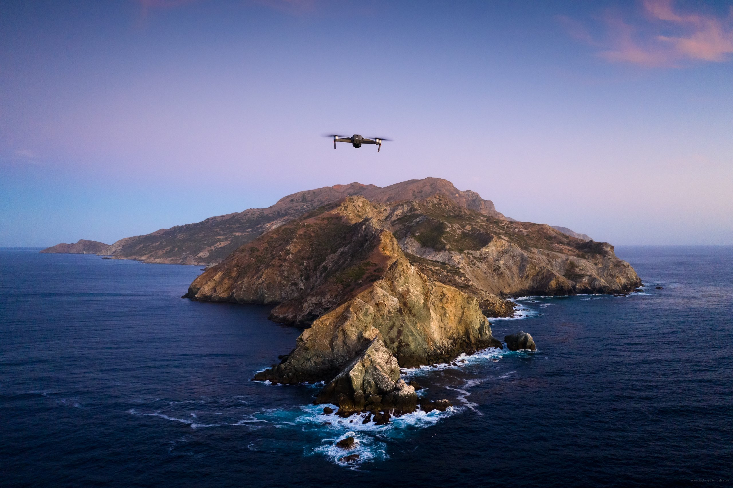 02 Catalina Drone BTS