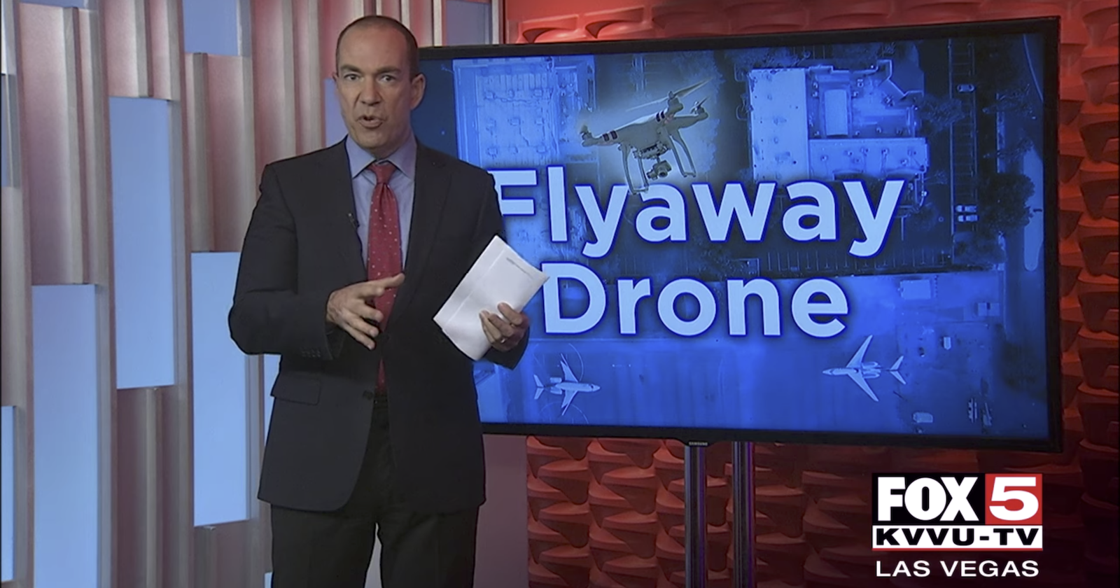 Man Fined Nearly $20,000 After His Runaway Drone Flew Over Las Vegas and Landed at an Airport