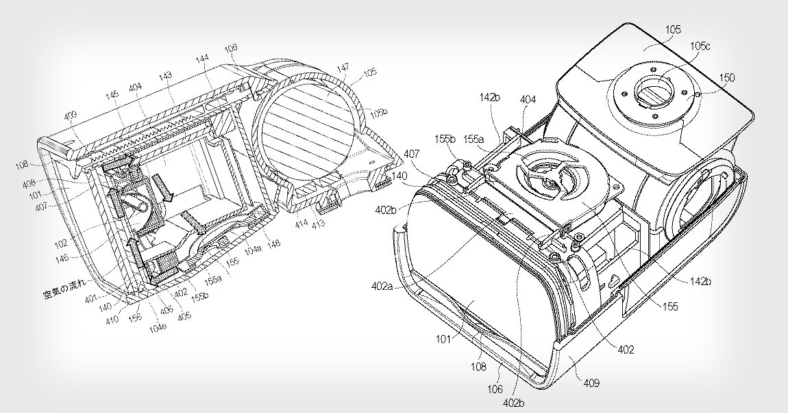 New Canon Patent Describes a Hybrid Speedlight with a Built-In Cooling Fan