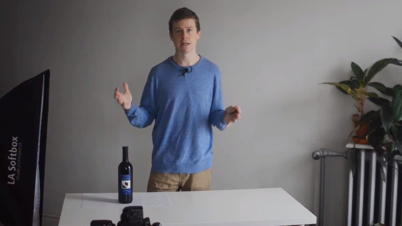 How the Table Affects Lighting When Shooting Bottles