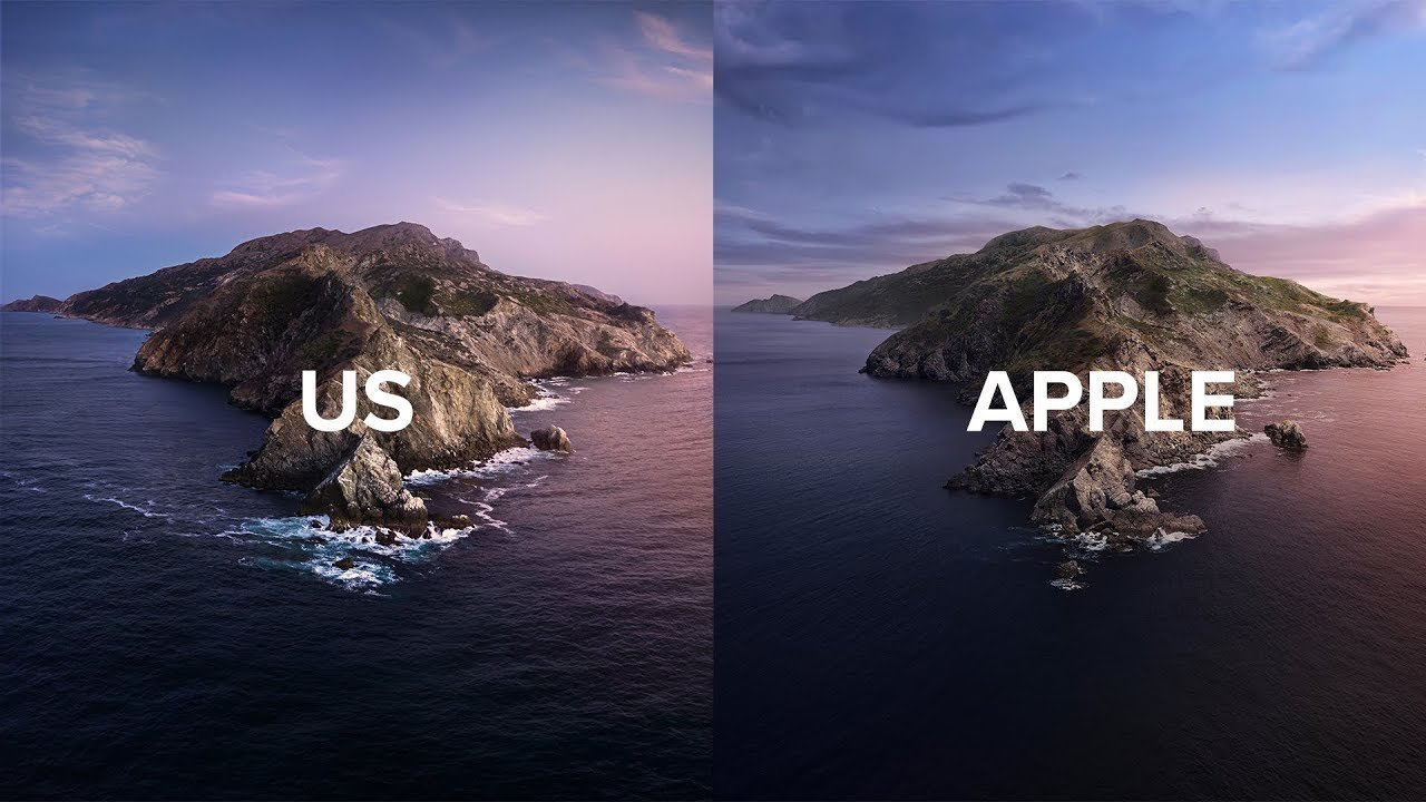 These Photographers Reshot Apple's macOS Catalina Wallpaper in Real Life