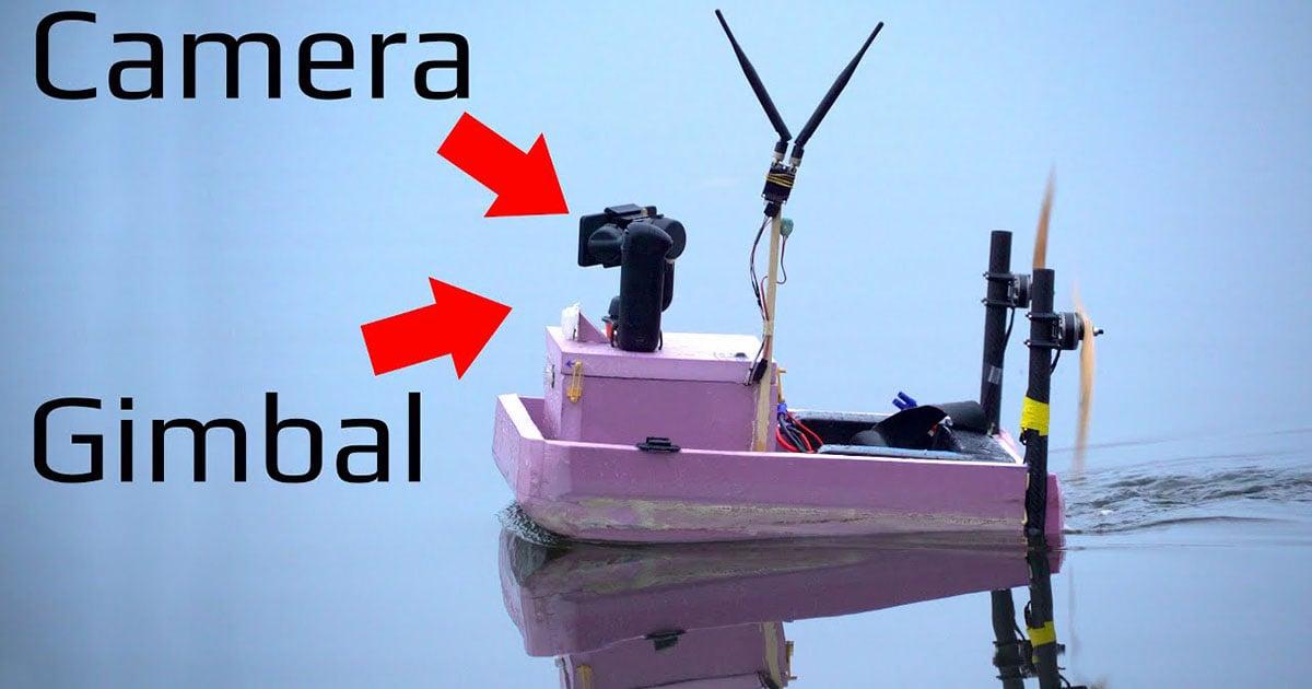 Making an Autonomous (Tiny) Boat for Hyperlapse Photography