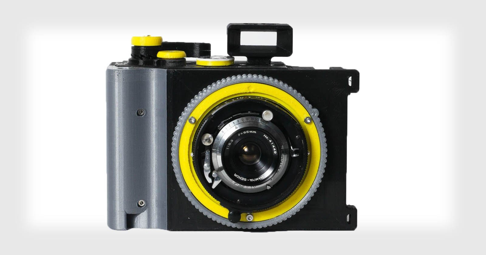 The CAMERADACTYL Brancopan: A 35mm Panoramic Camera You Can Print at Home