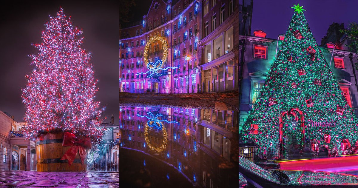 How to Photograph Christmas Light Displays