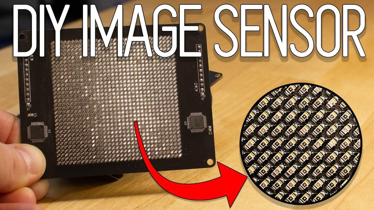 This Guy Built a DIY Image Sensor that Captures 1-Kilopixel Photos