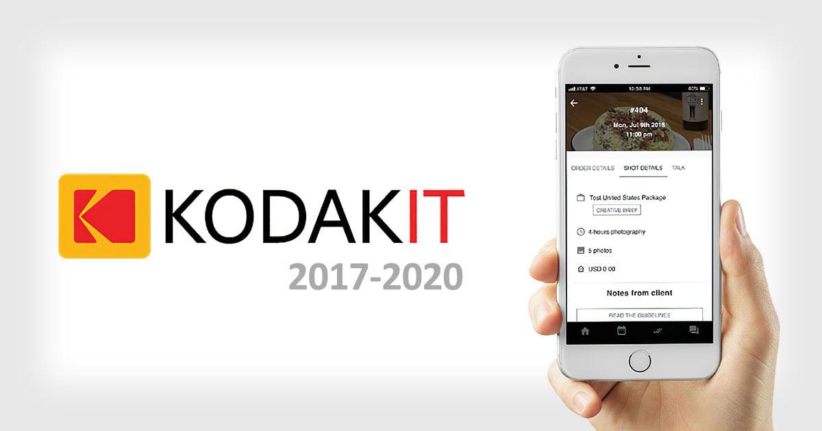 Kodak Shuttering Kodakit, the
