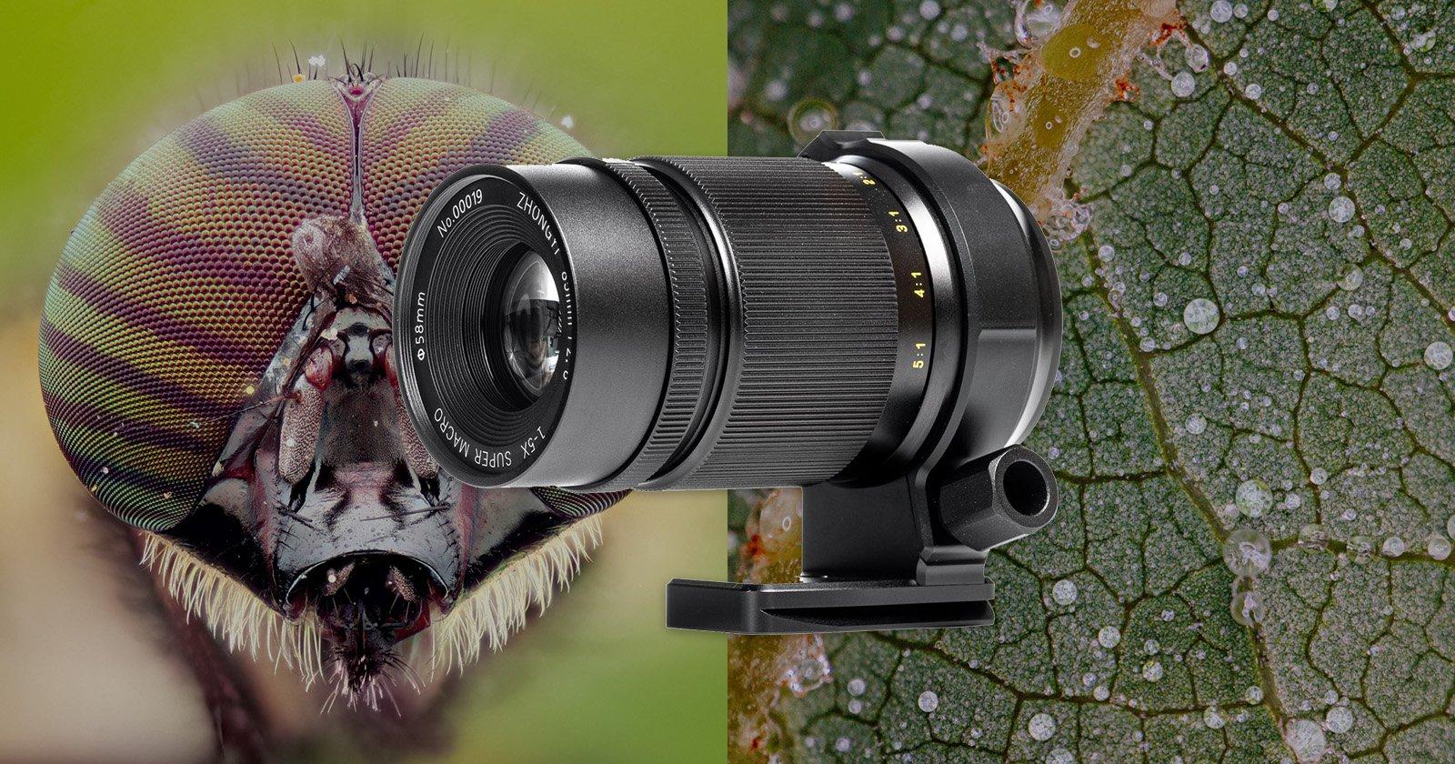 ZY Optics Unveils Mitakon 85mm f/2.8 1-5x Super Macro Lens