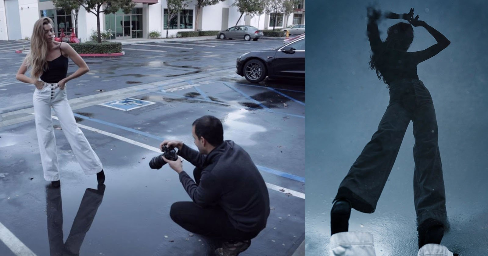 5 Creative Portraits in a Crappy Parking Lot