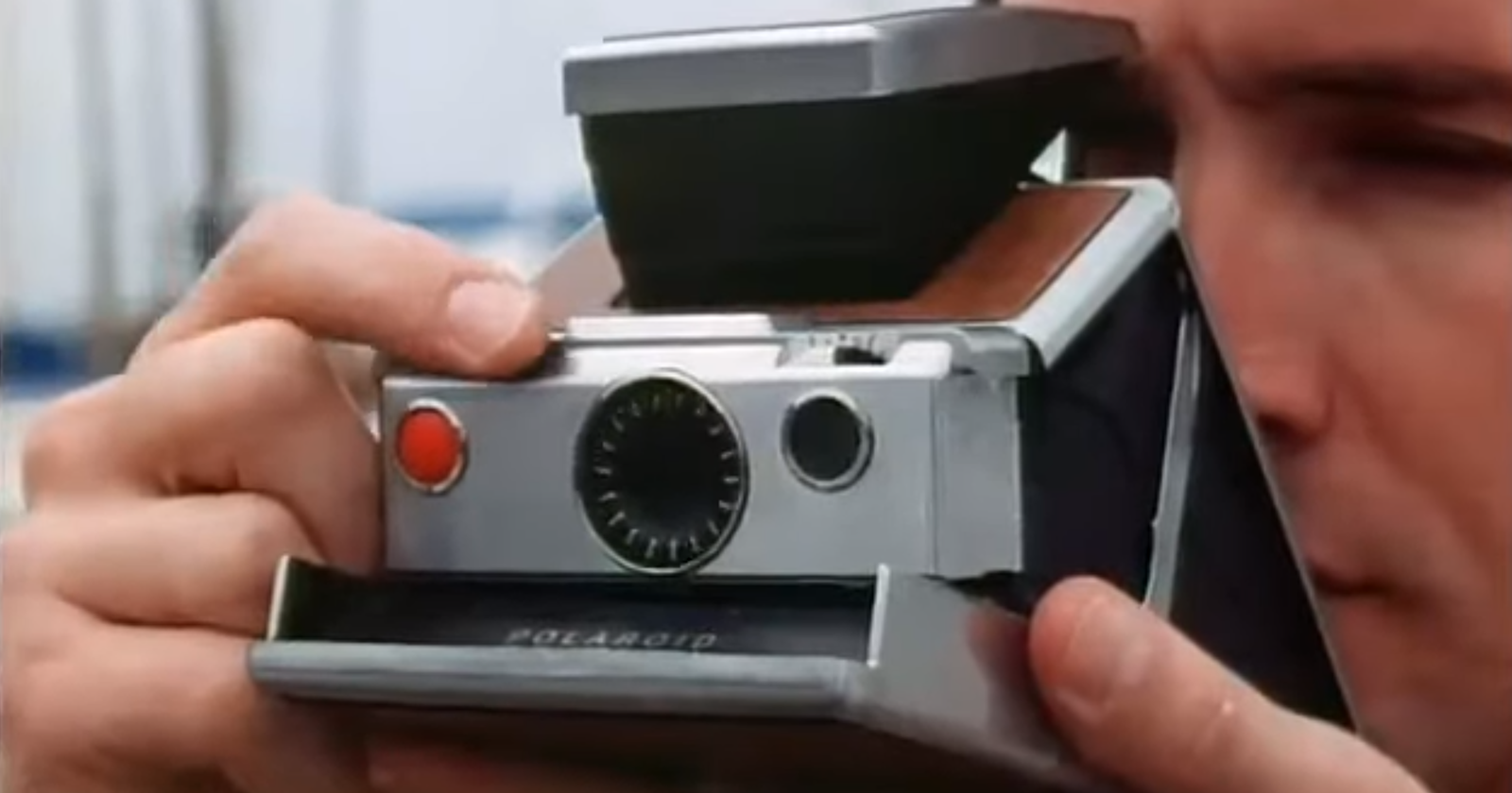 This Classic Polaroid SX 70 Ad is a Blast from Photography's Past
