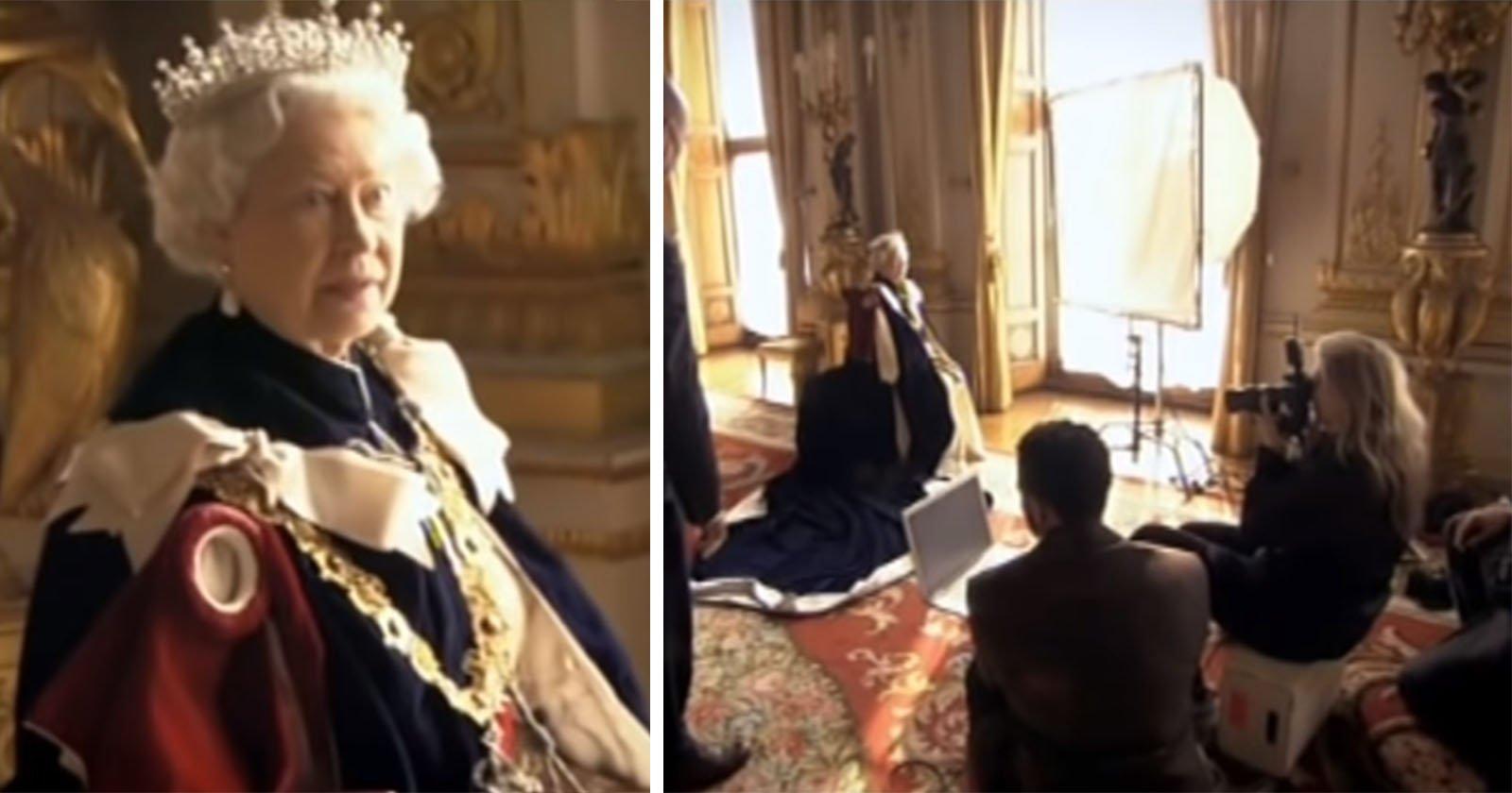 Watch Annie Leibovitz Get Scolded by Queen Elizabeth During a Photo Shoot