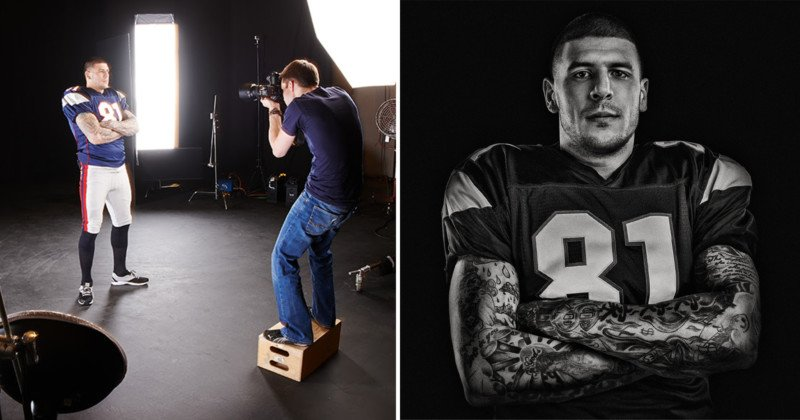 Photographing Aaron Hernandez on the Same Day He Shot Someone