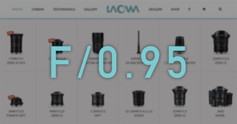Venus Optics is Working on a New Line of f/0.95 'Argus' Lenses: Report