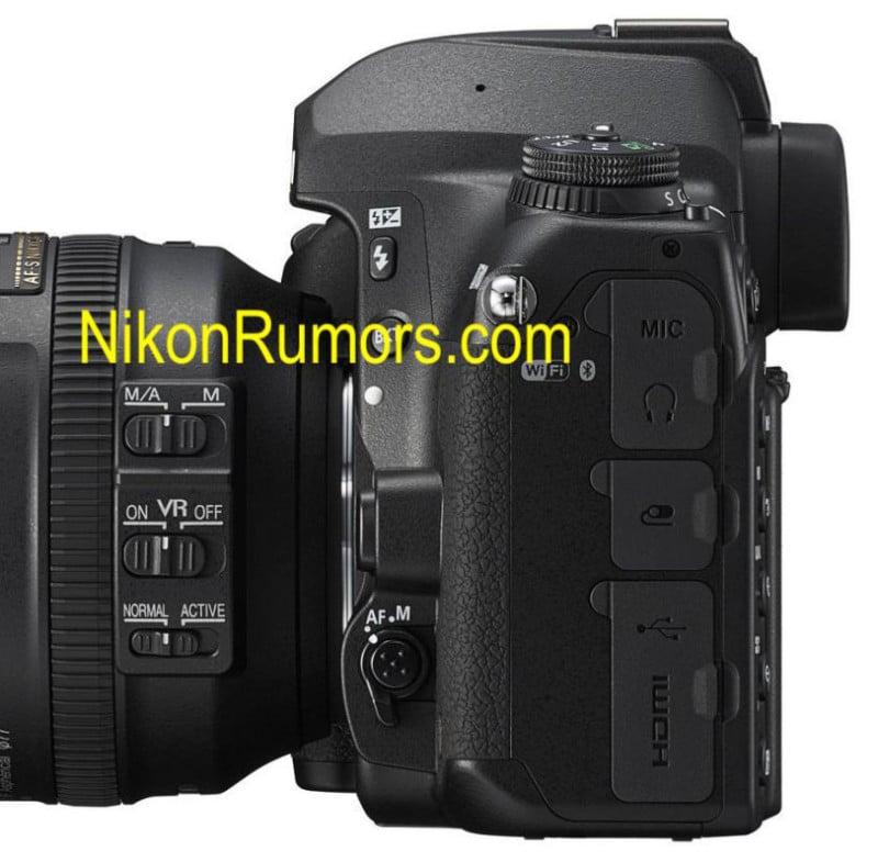 sideview 800x785 - Nikon D780 DSLR Photos Leaked