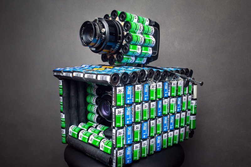 These Working Cameras Were Made Out of 35mm Film Canisters