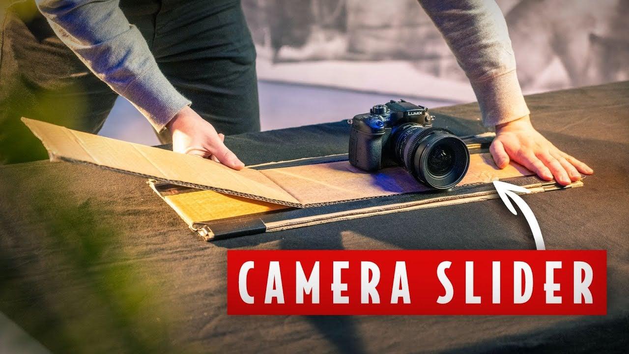 Nine DIY Filmmaking and Photography Hacks Using Cardboard