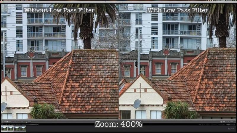 How an Anti-Aliasing Filter Impacts a Camera's Photos