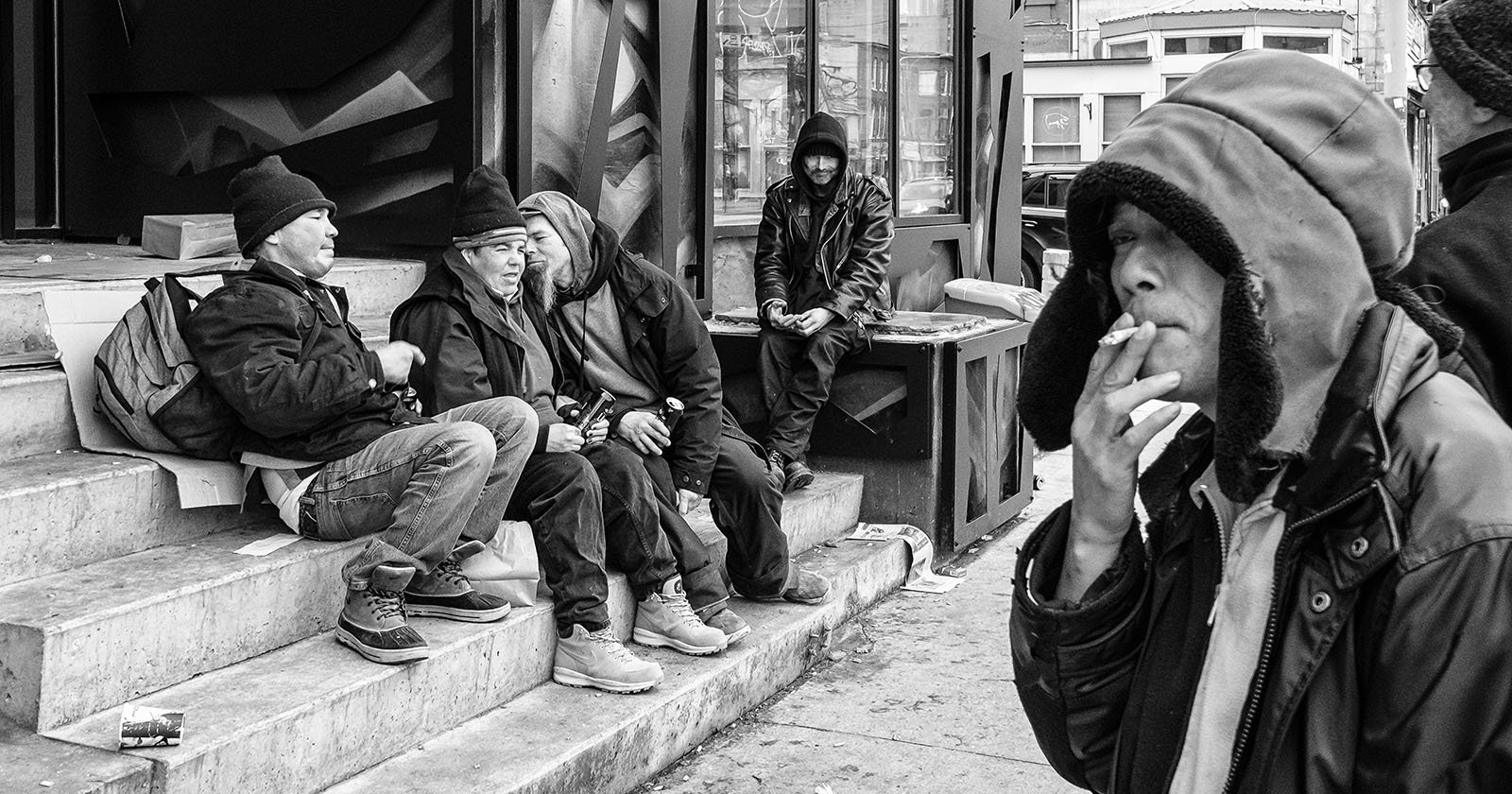 The Art of De-escalation in Street Photography