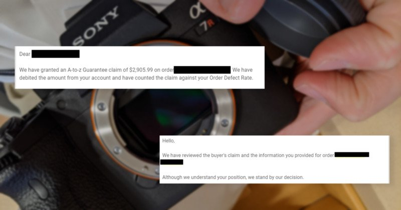 amazon let a fraudster keep my sony ar iv and refunded him