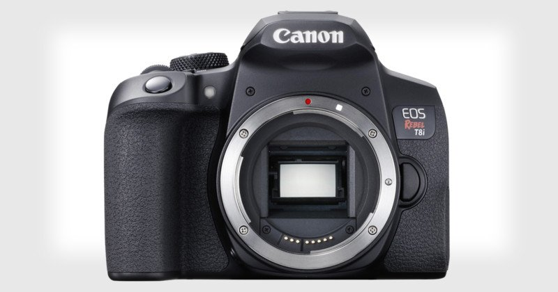 Canon Unveils Rebel T8i DSLR with Eye AF and Support for Vertical Video